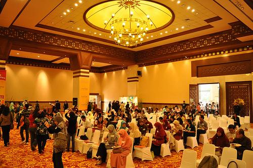 Suasana konferensi pers deklarasi berdirinya Partai Ibu Menyusui di Balai Kartini, Jakarta (21/4).