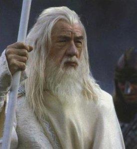 Gandalf sang Penyihir Putih. Calon presiden dari Partai Golput. (photo courtesy of Wikipedia.org)