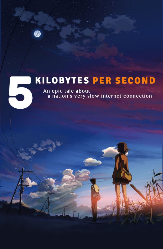 "Saat Internet Terkekang: Review Anime ""5 Kilobytes per Second"""