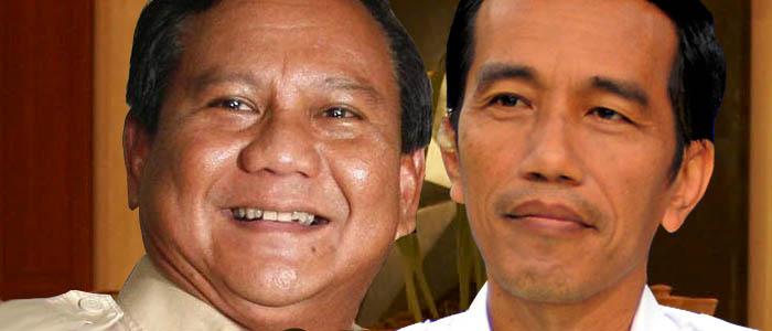 Kandidat dalam pilpres 2014, Joko Widodo dan Prabowo Subianto tampak akrab dalam sebuah selfie. Keakraban kedua kandidat ini menjadi sumber kemarahan para pendukung fanatik masing-masing. (photo edited by POS RONDA)