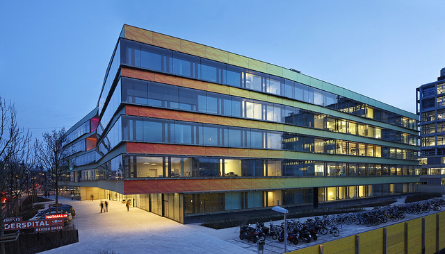 Salah satu rumah sakit di kota Basel, Swiss, yang juga menjadi markas dari GRIDPEC. (photo taken from flickr.com)