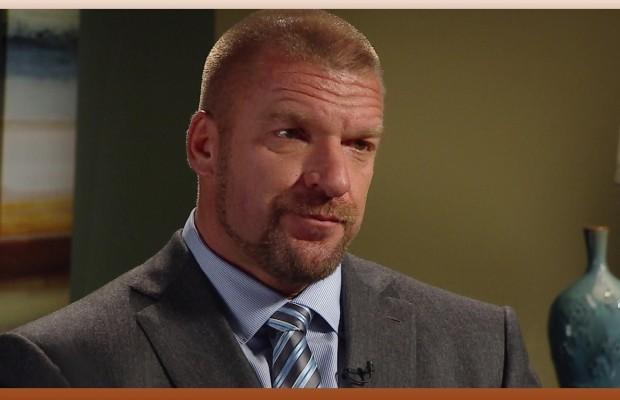 Executive Vice-President WWE Paul Levesque, lebih dikenal dengan nama panggung Triple H. Menurut Levesque, Prabowo akan sangat sukses bila bersedia bergabung dalam WWE. (photo courtesy allwrestlingnews.com)