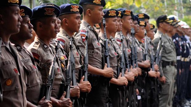 Hadapi Pergerakan Massa Besar-besaran Pasca 22 Juli, POLRI Gelar Kekuatan Penuh